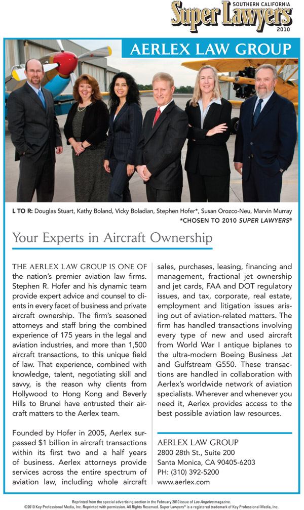 Article - Your Experts in Aircraft Ownership